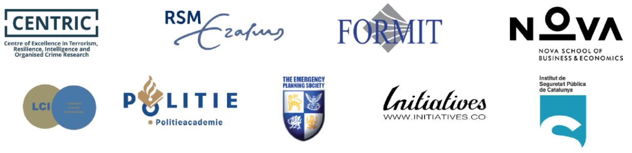 Logos del curs: International Security Management